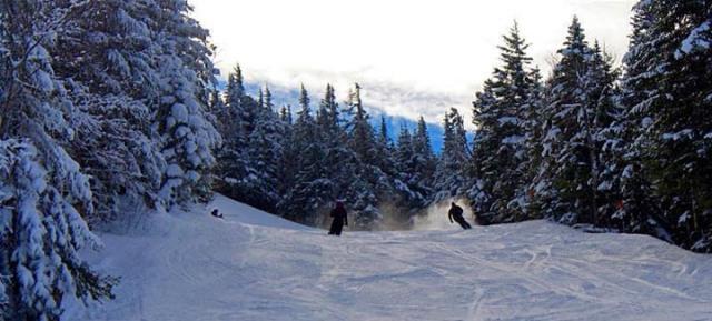 Fresh snow at Bolton, skiers paradise. ©Bolton Ski Resort
